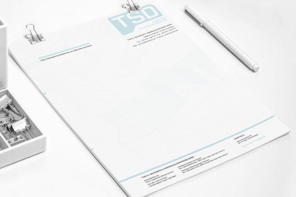 TSD Briefpapier
