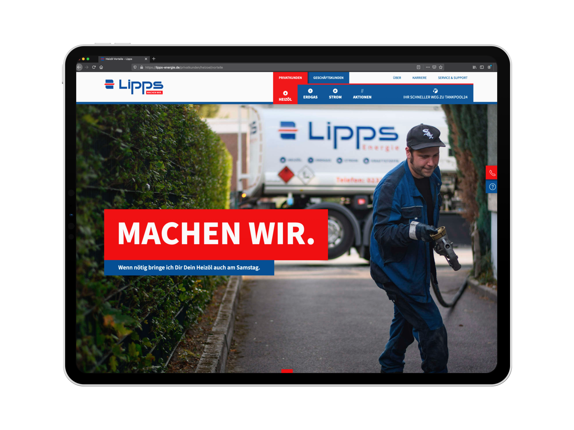 Lipps Energie Tablet PC