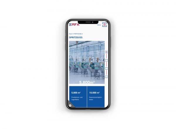 AFK Website Mobile