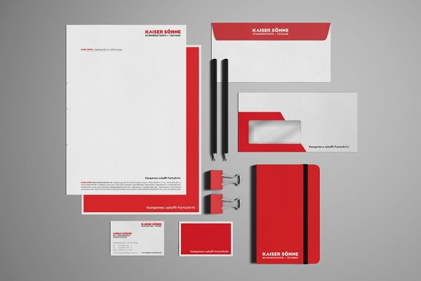 correlio Projekt KAISER SÖHNE Corporate Design