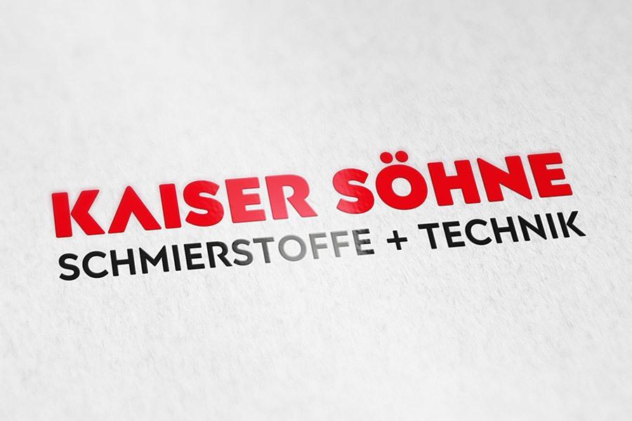 correlio Projekt KAISER SÖHNE Logoentwicklung